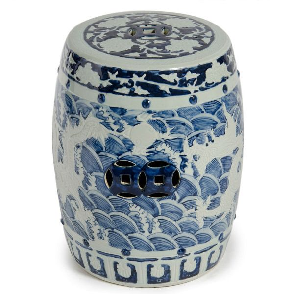 InStyle-Decor.com Beverly Hills Beautiful Chinese Blue u0026 White Porcelain Art Garden Stools  sc 1 st  Pinterest & 194 best Garden Stools images on Pinterest | Ceramic garden stools ... islam-shia.org