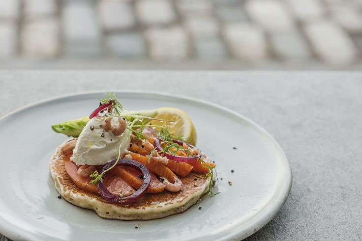 If you prefer something savoury on Pancake Day, try this delicious recipe from Tom Kitchin with smoked salmon and cream cheese...