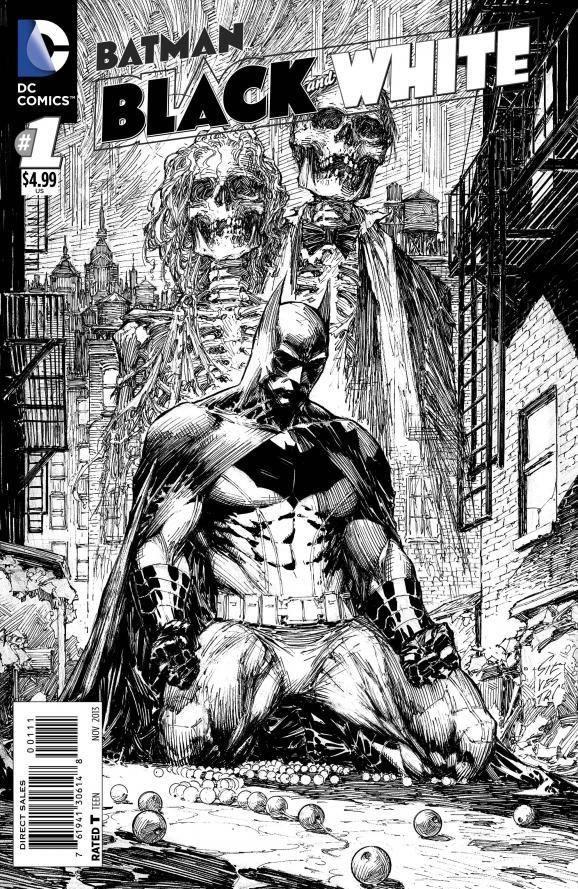 Batman: Black And White | Veja o trailer retrô da nova HQ > Quadrinhos | Omelete