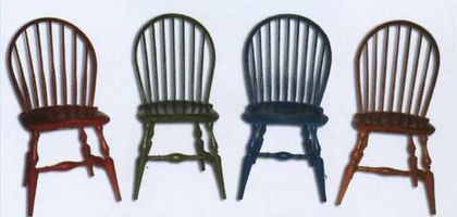 Painted Kitchen Chairs