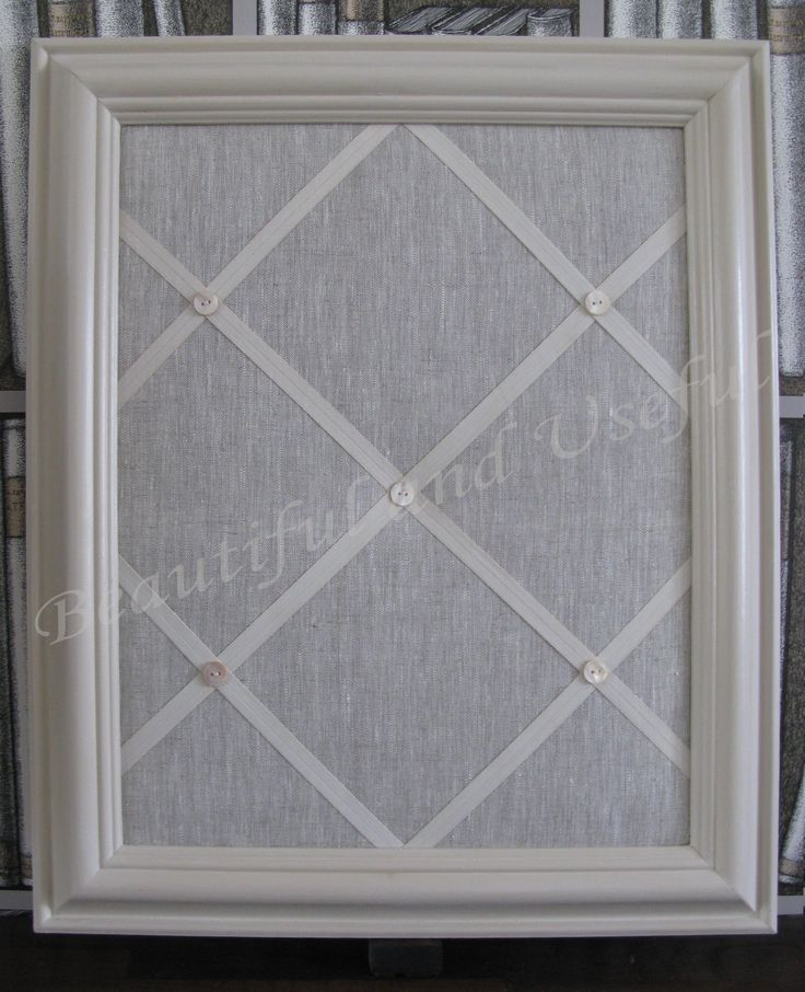 7 best bespoke framed memo boards pin boards images on for Linen cork board