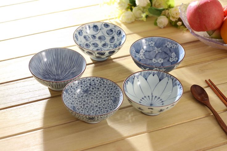 Teliwu Japanese bowls & 138 best blue and white Japan images on Pinterest | Japanese bowls ...