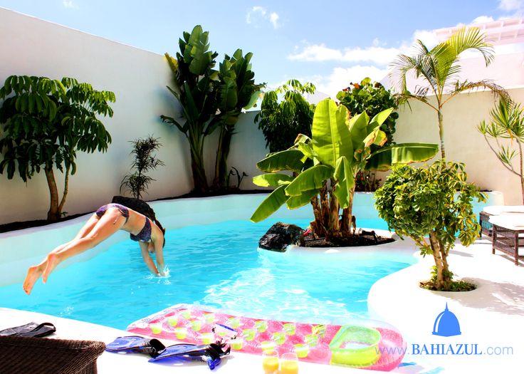 Spending the afternoon at Bahiazul, by Mirella van Velsen #Villas #Fuerteventura #Corralejo #Holidays #Vacaciones #Relax #Privatepool