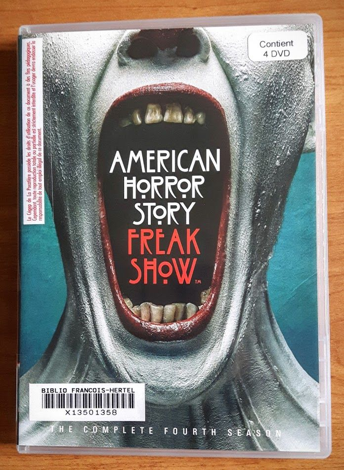 American horror story : the complete fourth season : Freak show (vd00871)