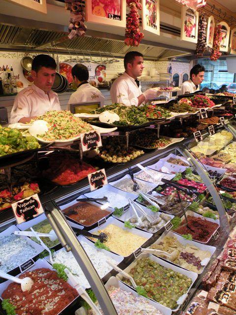 Unbelievably delicious mezes - Istanbul, Turkey