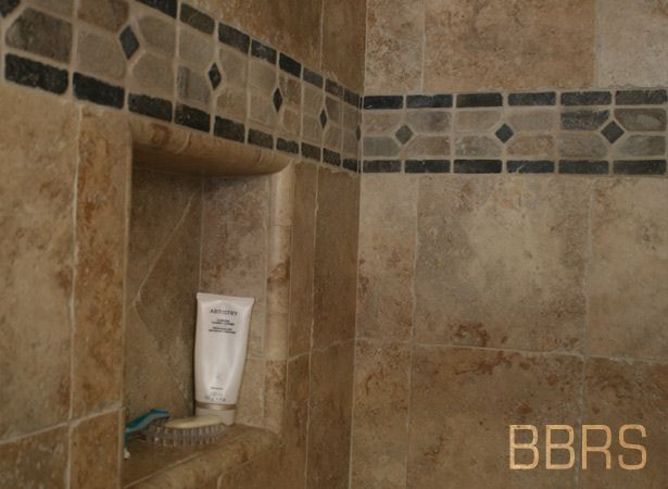 23 Rustic Shower Niche Jpg 615 215 450 Shower Tile