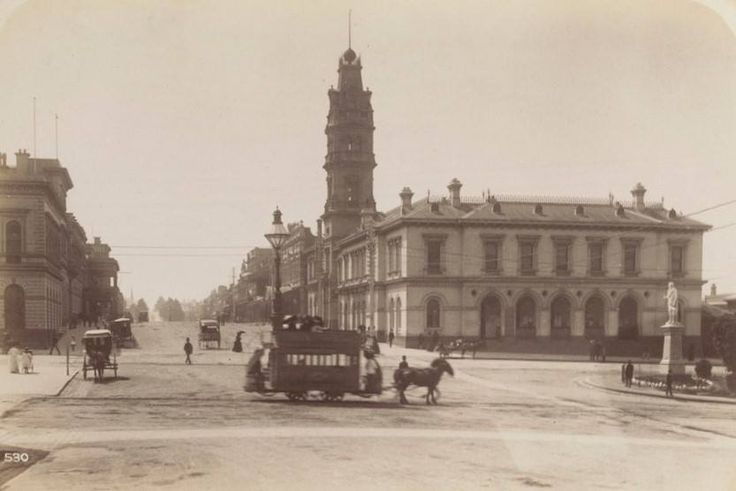 Ballarat horse tram, 1890's
