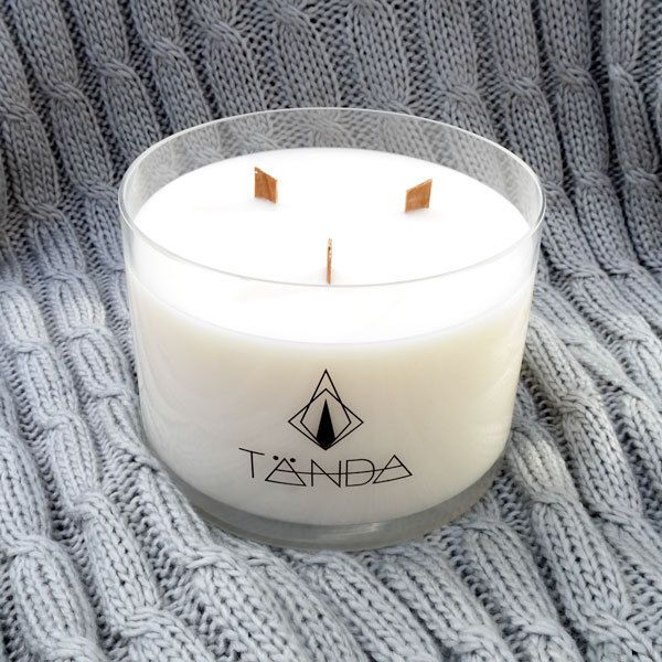 This triple-wicked beauty will have your home smelling incredible for well over 120 hours!It has an extended scent throw due to its additional wicks, and will look stunning in any setting.