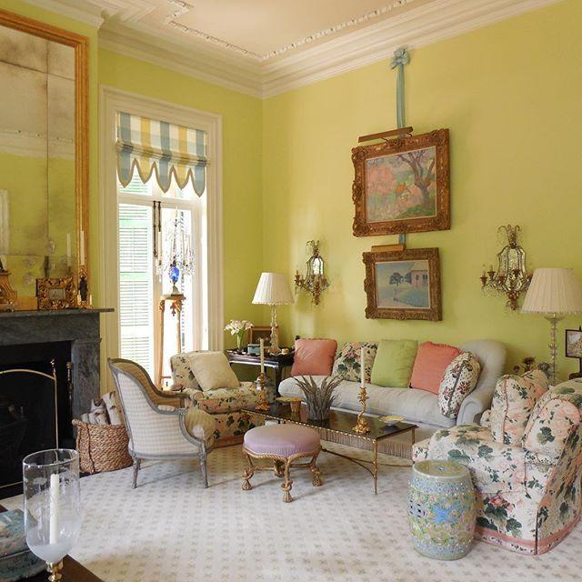 @bravotv Beautiful sunny light here in my #drawingroom #charleston #southerncharm