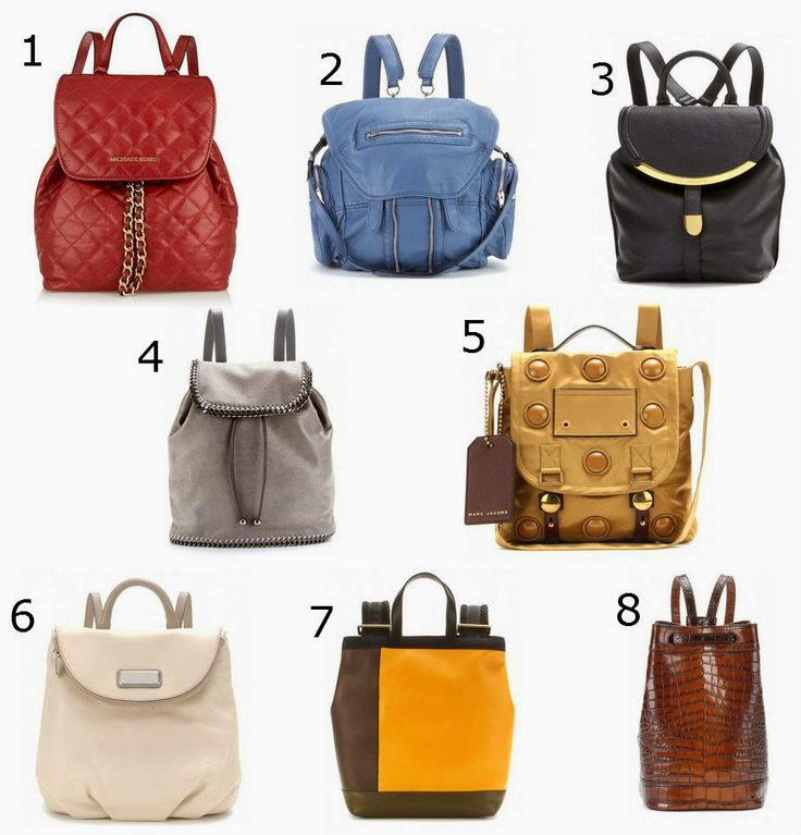 Get In On The Backpack Purse Trend | Daily Chic Inspiration