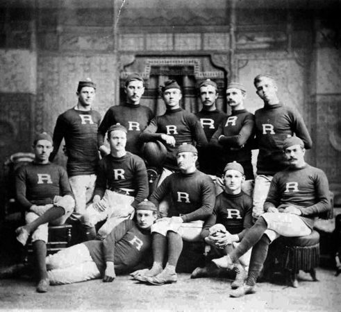 An early photo of the #Rutgers University football team. See more vintage views of football in New Jersey at NJ.com
