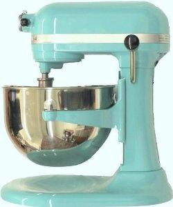 Amazon.com: Kitchenaid 600 Martha Stewart Aqua Sky Color Tiffany Blue 6-Quart Super Capacity