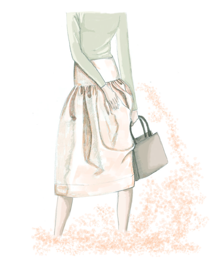 #mskpu, #Magdalena Popiel, #fashionilustration,