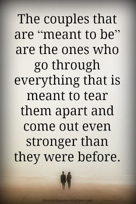 Heartfelt Quotes 10 Best Meant To Be Together Love Quotes