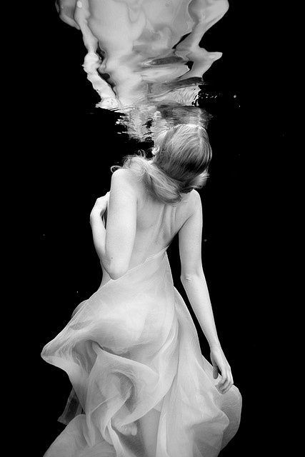 Aaron Draper, from the Under Water series: Underwater Photos, Aaron Draper, Inspiration, Fashion Models, Black And White, Art, Beautiful, Underwater Photography, Breath