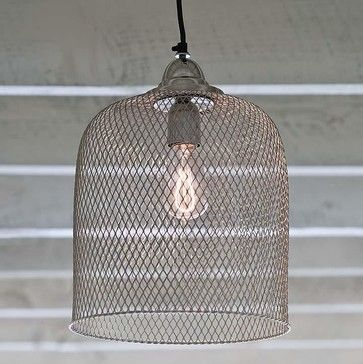 I want to make one of these <3..................Regina Andrew Cage Pendant eclectic-pendant-lighting