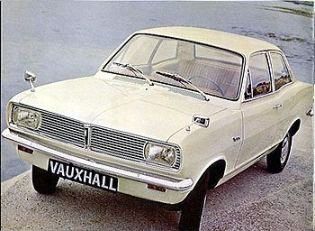 1969 Vauxhall Viva - my first car AAN806G!