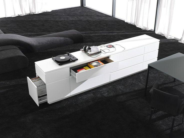 interl bke sideboard mit schubladen cube gap kollektion cube gap by interl bke design werner. Black Bedroom Furniture Sets. Home Design Ideas