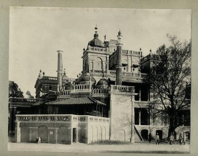 The Kaiser Pasund Palace Lucknow - 1890's - Old Indian Photos