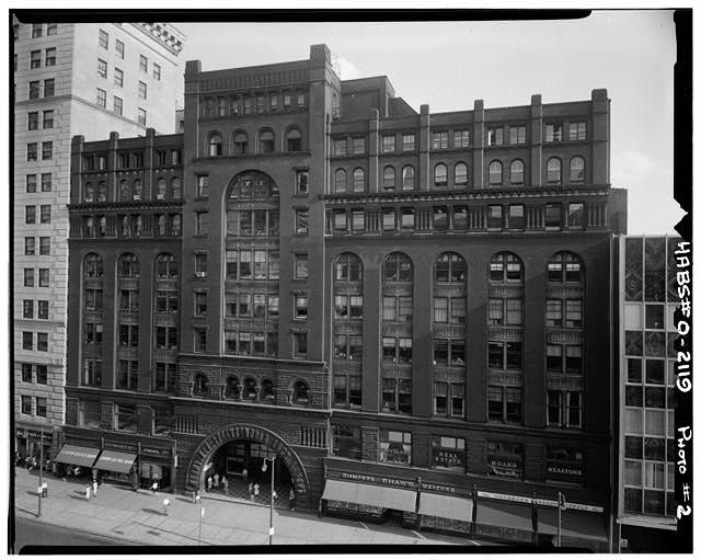 Cleveland Area History: The Arcade: one of the best interior spaces in the country