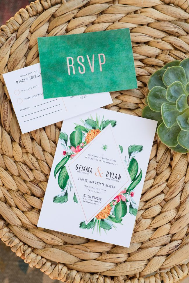 Giving Back Wedding Invitations | Meredith Ryncarz Photography | See More  At Http://