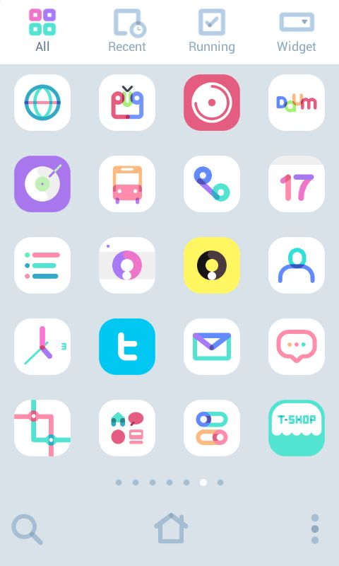 칼라마카 도돌 런처 테마 - screenshot