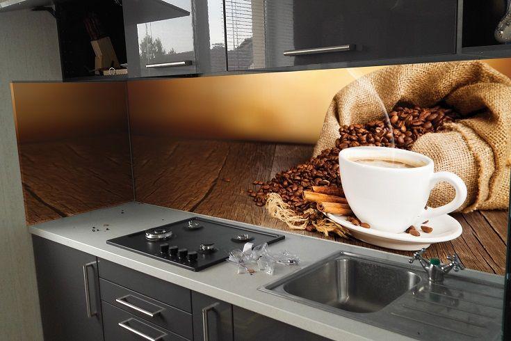 Кухонный фартук Кофе 03. Цена 430 грн. Декор для ванной и кухни, декор и текстиль для кухни, декоративные наклейки, наклейки printable, наклейки на кухню, виниловые наклейки для кухни, декоративные наклейки на мебель