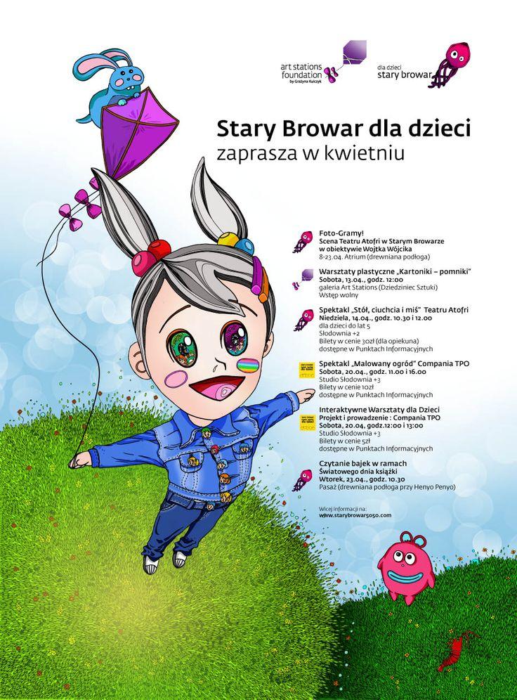 Stary Browar dla Dzieci: kwiecień 2013
