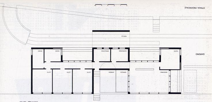 Giorgio Grassi | Casa Junto al Lago d'Iseo | Italia | 1962