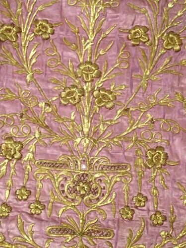 Detail of a19th century Ottoman hand embroidered dress.