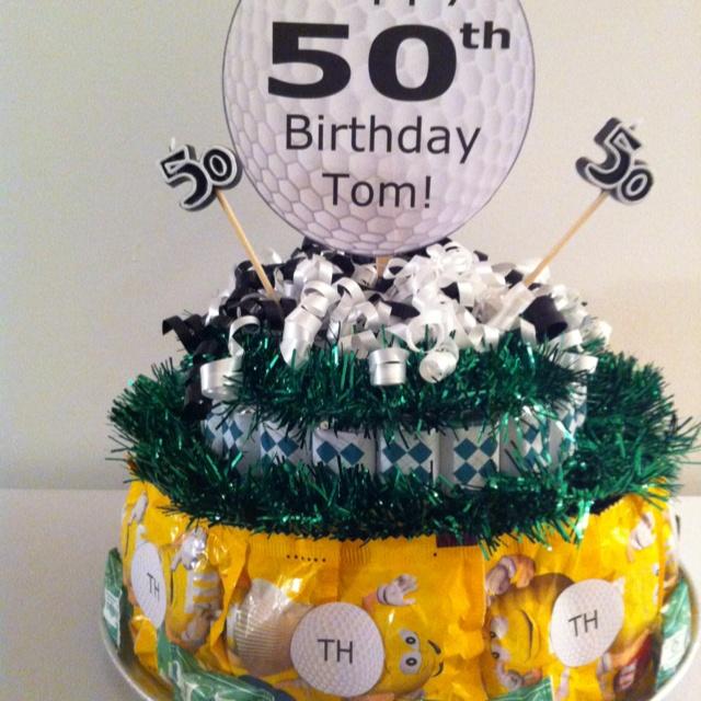 Golf Candy Cake