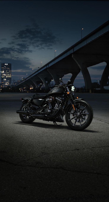 The Iron 883 is a nimble urban machine that kicks asphalt. | 2016 Harley-Davidson #DarkCustom