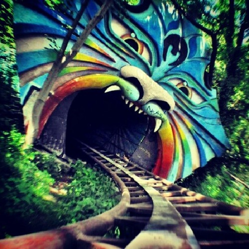 The Abandoned Amusement Park, Berlin, Germany. #Berlin
