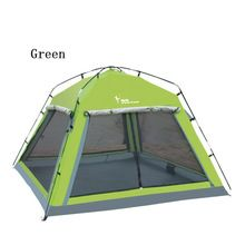 1pcs Camping Tent 4 person Outdoor Equipment Single room Family Tourism Beach Tents Waterproof tent
