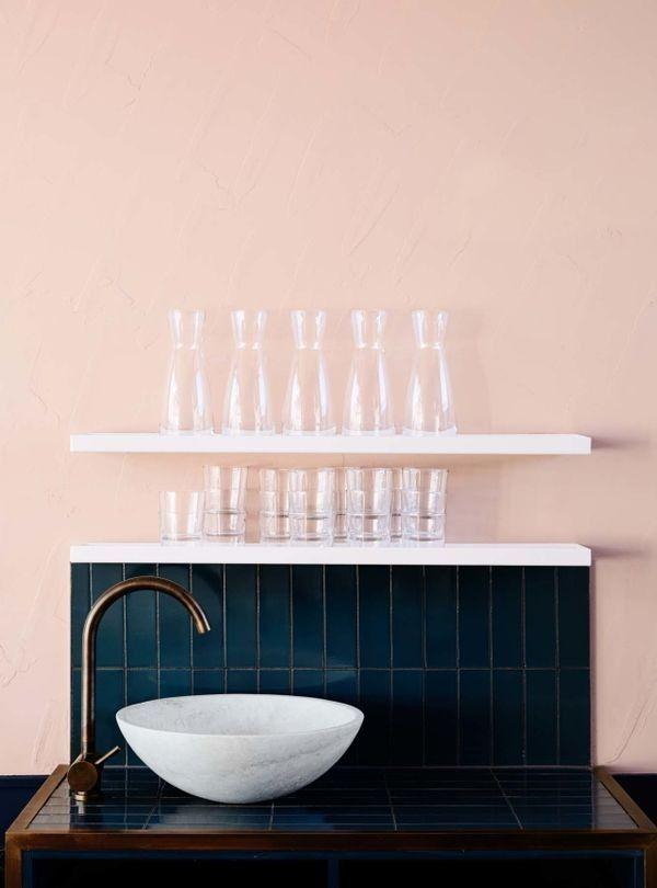 Melbourne café Moby takes colour blocking into a modern realm — Vogue Living