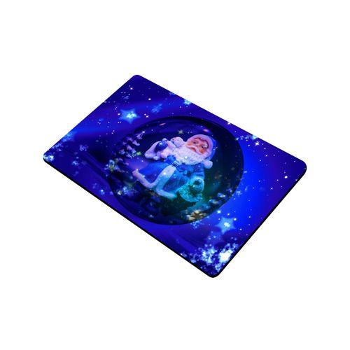 "Blue Santa Claus Doormat 23.6"" x 15.7""(Small)"