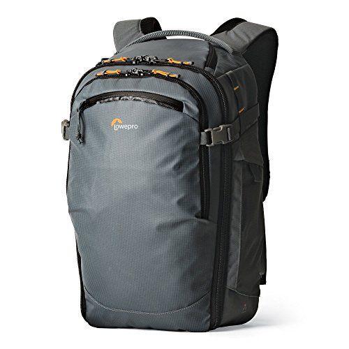 Lowepro Highline Backpack Sac à Dos Loisir Gris: Le sac est recouvert d'un Nylon TPU 420 et de Cordura® haute performance, solide et…