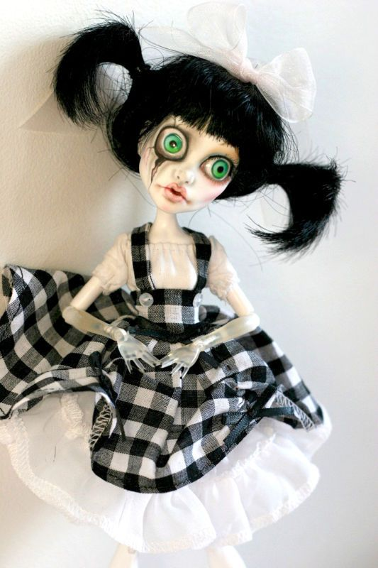 OOAK Custom Monster High Doll Spectra Vondergeist Repaint Deerie | eBay