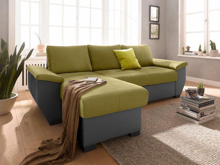 Die besten 25+ grüne Ecksofas Ideen auf Pinterest graues Ecksofa - wohnzimmer grun schwarz
