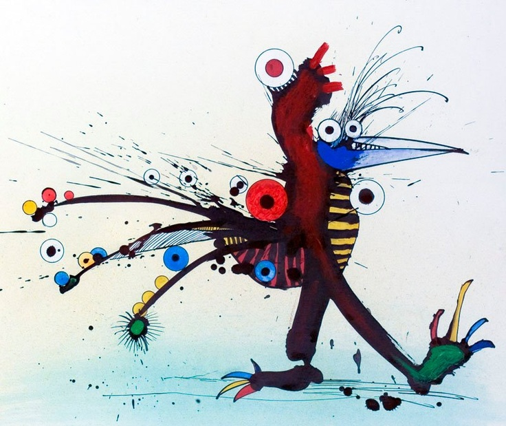 From the Ralph Steadman Art Collection