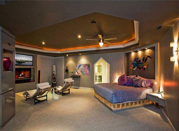 Master Bedroom Tv Theater Dream Home Pinterest