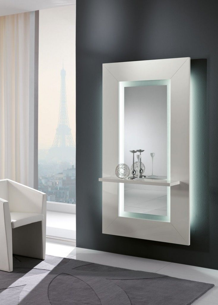 Oltre 25 fantastiche idee su specchio con cornice in legno - Specchio grande ...