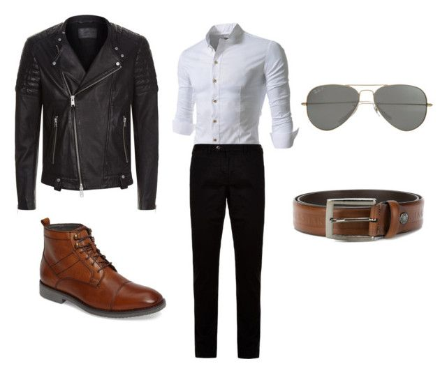 """MALE Decadent clever street"" by decadentme on Polyvore featuring Ted Baker, English Laundry, AllSaints, Parasol, Paul & Shark, men's fashion and menswear"