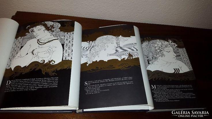 Szász Endre illusztrációival Ezeregyéjszaka 1-2-3 kötet