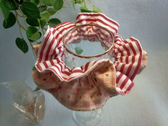 "Japanese hand kawaii shushu / Reversible and Frilled Scrunchy / Scrunchie - 3.9"" (10cm) / #41 by YuminaCafe, ¥500"
