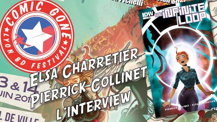 ComicsDiscovery Interview Elsa Charretier et Pierrick Collinet