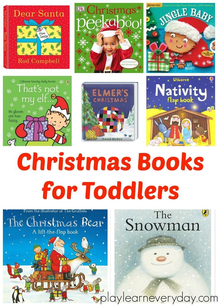 A selection of books that would be perfect for gifts for toddlers this Christmas time.