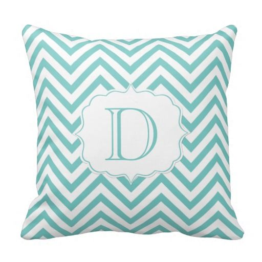Teal and White Chevron Pattern Monogram Throw Pillows so please read the important details before your purchasing anyway here is the best buyReview          	Teal and White Chevron Pattern Monogram Throw Pillows lowest price Fast Shipping and save your money Now!!...