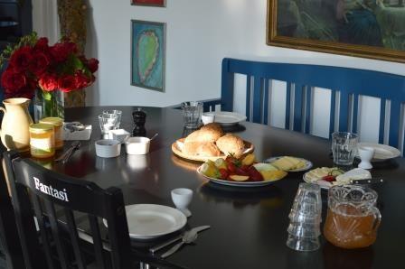 Breakfast - Æblegaarden B&B, Langeland, Denmark, www.aeblegaarden.dk Photo by Sannie Terese Burén