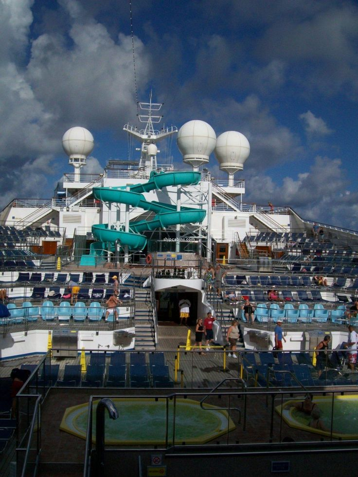 Carnival Freedom Decks and Cabins